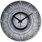 Goonss Wall Decoration Watch For Home Decor Warranty 3 Years Frozen Retro Large Decorative Wall Clock With Roman Number Gift,Style 3,12Inch 30Cm