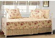 Greenland Home Antik Rose Set Sofa gesteppt