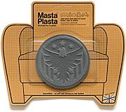 Grey MastaPlasta Self-Adhesive Leather Repair Patches. Choose size/design. First-aid for sofas, car seats, handbags, jackets etc. (GREY EAGLE 8cmx8cm)