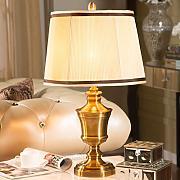 Gute Sache Tischleuchte Luxus Continental Lampe Nachttischlampe Schlafzimmer Wohnzimmer Studie Verzinkte Galvanotechnik