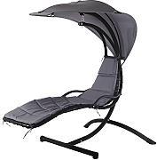 h ngesessel schwarz g nstig online kaufen lionshome. Black Bedroom Furniture Sets. Home Design Ideas