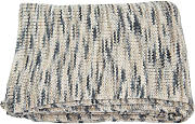 Heimtextilien - Tom Tailor Strickplaid T-MOTLEY grau/beige