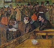 Henri Toulouse Lautrec - The Bar - Large - Semi Gloss - Black Frame