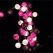 Lichterkette lila g nstig online kaufen lionshome - Lichterkette lila ...