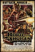 Hobo With Shotgun Poster 01 Canvas A2 large 42x60cm Box Canvas Print 16x24 inch