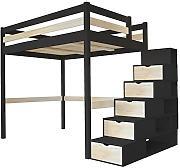 Treppe schwarz g nstig online kaufen lionshome for Nagellack treppe