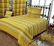 sofa berwurf gelb g nstig online kaufen lionshome. Black Bedroom Furniture Sets. Home Design Ideas