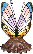 Htdeco - Luminaires - Tiffany Butterfly Lampe