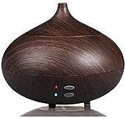 Hysure 300ml Wood Grain Aroma Diffuser Essential oil Diffuser Electric Ultrasonic Humidifier Aromatherapy Cool Mist Humidifier