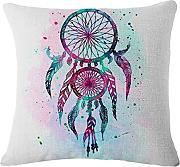 Produktbild: Igemy 45 * 45cm Dream Catcher Baumwoll Leinen Kissenbezug Kissenbezug Home Sofa Bed Car Decor (A)
