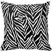 Irregular Stripe in Black and White Fashion Decoration Pillow Case Sofa Bed Home