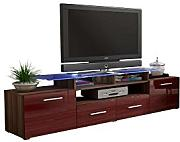 fernsehtisch rot g nstig online kaufen lionshome. Black Bedroom Furniture Sets. Home Design Ideas