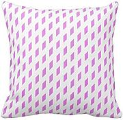 KarilShop Diamond in pink Linen Throw Pillow Case Cushion Cover Home Sofa Decorative 18 X 18 Inch.