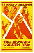 Kid With Golden Arm Poster 01 Metal Sign A4 12x8 Aluminium