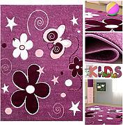 spielteppich violett g nstig online kaufen lionshome. Black Bedroom Furniture Sets. Home Design Ideas