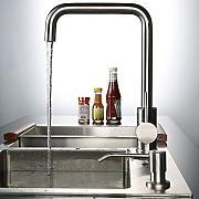 küchenarmaturen edelstahl gebürstet günstig online kaufen   lionshome - Wasserhahn Küche Edelstahl Gebürstet