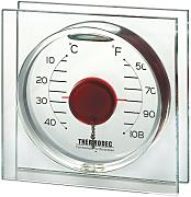 Koch 10212 Deko-Thermometer Magic Ball, rot