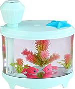 Kreative Aquarienbeleuchtung Befeuchter USB-Luftbefeuchter Mini Home Edition Ladenachthimmel Luftbefeuchter,Green-AllCode