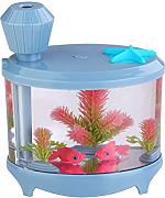 Kreative Aquarienbeleuchtung Befeuchter USB-Luftbefeuchter Mini Home Edition Ladenachthimmel Luftbefeuchter,Blue-AllCode