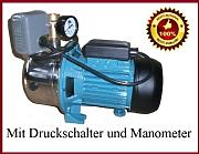gartenpumpen gartenpumpe mit druckschalter g nstig online. Black Bedroom Furniture Sets. Home Design Ideas