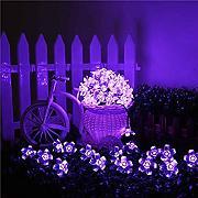 Solar lichterkette lila g nstig online kaufen lionshome - Lichterkette lila ...