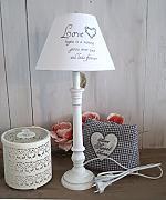 tischlampe chic lampe g nstig online kaufen lionshome. Black Bedroom Furniture Sets. Home Design Ideas
