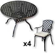 lazy susan gartentische g nstig online kaufen lionshome. Black Bedroom Furniture Sets. Home Design Ideas