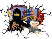 Wandtattoo lego g nstig online kaufen lionshome - Lego wandtattoo ...
