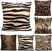 Leopard Animal Print Pattern-Kissenbezug Sofa Taille Wurfkissenbezug Home Decoration