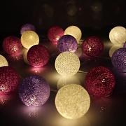 Led lichterkette lila g nstig online kaufen lionshome - Lichterkette lila ...