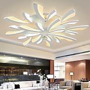 Deckenleuchten Bl Lampen Günstig Online Kaufen   Lionshome Moderne Deckenleuchten Fur Wohnzimmer