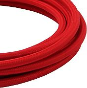 LIVING by colors Textilkabel FLEX CABLE 3m dark red