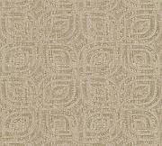 Livingwalls Vliestapete Revival Tapete grafisch Vintage Optik 10,05 m x 0,53 m beige braun metallic Made in Germany 327374 32737-4