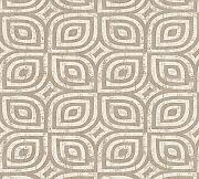 Livingwalls Vliestapete Revival Tapete grafisch Vintage Optik 10,05 m x 0,53 m beige creme metallic Made in Germany 327371 32737-1
