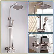 duschen edelstahl g nstig online kaufen lionshome. Black Bedroom Furniture Sets. Home Design Ideas