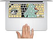 MacBook Tastatur Aufkleber Aufkleber UK Style mackeyboard Schlüssel Aufkleber MacBook Pro Tastatur Aufkleber Skin Sticker MacBook Air Tastatur MacBook Aufkleber für MacBook Pro/Air 33 cm 38,1 cm 43,2 cm.., french style