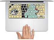 MacBook Tastatur Aufkleber Aufkleber UK Style mackeyboard Schlüssel Aufkleber MacBook Pro Tastatur Aufkleber Skin Sticker MacBook Air Tastatur MacBook Aufkleber für MacBook Pro/Air 33 cm 38,1 cm 43,2 cm.., Spanish style