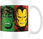 "Produktbild: Marvel MG23443 8 x 11.5 x 9.5 cm, ""Faces"", Keramik-Becher, Retro Design, mehrfarbig"
