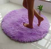 Teppich rund lila  MEMORECOOL Teppich rund günstig online kaufen | LIONSHOME