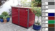 m lltonnenboxen muelltonnenbox 3 g nstig online kaufen lionshome. Black Bedroom Furniture Sets. Home Design Ideas