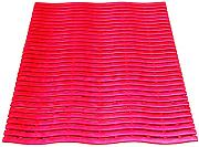 miltex 13013 Bodenmatte Yoga Soft Step, 60 x 90 cm, rot