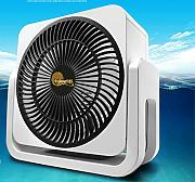 Mini Tischventilator Elektrischer Ventilator Turbine Fan Desktop Air Convection Circle Fan
