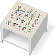 beistelltische beistelltisch mit rollen g nstig online. Black Bedroom Furniture Sets. Home Design Ideas
