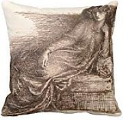 Mrs Jane Morris Reclining On A Sofa Pillow Case