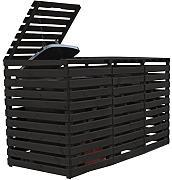m lltonnenbox holz 3 tonnen g nstig online kaufen lionshome. Black Bedroom Furniture Sets. Home Design Ideas