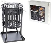 feuerkorb mit grilleinsatz g nstig online kaufen lionshome. Black Bedroom Furniture Sets. Home Design Ideas