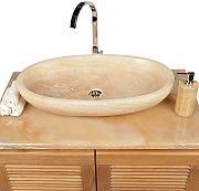 Doppelwaschbecken oval  Aufsatzwaschbecken Oval günstig online kaufen | LIONSHOME