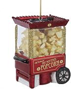 Noble Gems Popcorn-Maschine, Christbaumschmuck, 8,26 cm