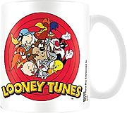 Offizielle Looney Tunes Charakter Collage Bugs Bunny Taz Daffy Kaffee-Haferl - Boxed