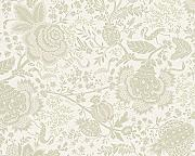Produktbild: Oilily Home Tapete Oilily Atelier, florale Mustertapete, creme, grau, weiß, 302752